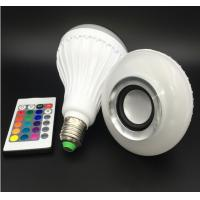 Bluetooth Music E27 Intelligent Light Bulb With 24 Keys Remote Control Wireless Speaker Manufactures