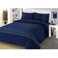 100% Cotton Embroidered Modern Bedding Sets 4Pcs Double Size Bedding Sets Manufactures