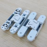 Buy cheap white concealed hinges 180 degree adjustable hinge from wholesalers