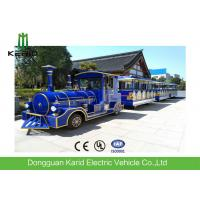 62 Seater Mini Electric Trackless Train , Shopping Mall Electric Sightseeing Train Manufactures