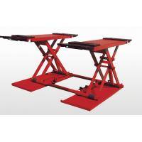 Electric Removable Hydraulic Auto Lift , Scissor Car Lift For Vechile / Truck Manufactures