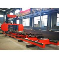 MJ700 Electric Portable Horizontal wood Band Sawmill for wooden board Manufactures