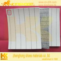 China inner sole material stripe insole board shoes materials on sale