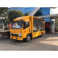 Quality Mobile Digital LED Billboard Truck Howo 4 Tons VGA Synchronous Control for sale