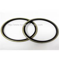 NBR Dust Wiper Seal NBR Iron Material Dustproof Waterproof Oil Resistant Manufactures