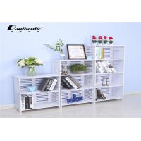 Modern simple collection of louver multi storey storage rack light large capacity stacks Manufactures