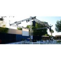 Outdoor Concert / Party / Wedding Stage DJ Truss For Speakers Manufactures