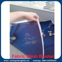 Fabric Outdoor Mesh Banners Sign Fence Wrap Manufactures