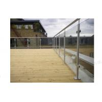 High Quality Stainless Steel Glass Balustrade Manufactures