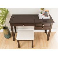 China Kids Wooden Solid Wood Dressing Table Practical Solid Oak Slim Dressing Table on sale