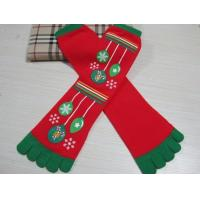 Christmas decoration ornaments gifts,Christmas tree  stockings, five fingers socks, animated cartoon style Manufactures