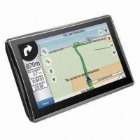 GPS Navigator with FM, Bluetooth, A/V-in Functions and 5-inch TFT Touch Screen Manufactures