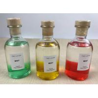 Colorful Mixed Home Reed Diffuser Decoration Essential Oils Pillar Bottle Manufactures