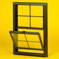 Quality Vertically Movable Windows with Single and Hollow Glass for sale