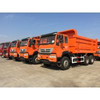 SINOTRUK HOWO Dump Truck Trailer 6 * 4 336hp 30 Tons 10 Wheeler CCC Approved Manufactures