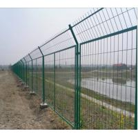 Black Welded Wire Fence Panels Welded Wire Mesh Fencing Panels Galvanized Welded Wire Mesh Panels Manufactures