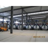 Lightweight Concrete Glass Industrial Autoclave 2.5×31m With 1.6Mpa Pressure Manufactures