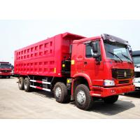Sinotruk HOWO 50 Tons 8*4 Dump Tipper Truck For Mineral Material Transportation Manufactures