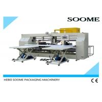 China Double Screw Carton Box Stitching Machine Bending Type 45 Degree Oblique on sale