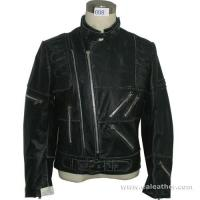 Mens Leather Style Garment (008) Manufactures