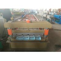 Cladding Profile IBR Metal Roofing Sheet Roll Forming Machine PLC Control Manufactures