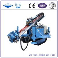 MDL-135D Great torque crawler drilling rig for anchoring or jet-grouting Manufactures