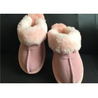 AUSTRALIA kids Sheepskin Slippers Chestnut Winter Warm Indoor Shoes Manufactures