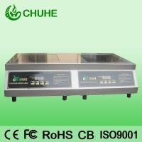China 2015 double induction stove with 5kw*2 on sale