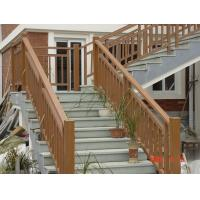 Anti-UV Agent WPC Outdoor Fence Stair Handrail for Garden and Playground Manufactures