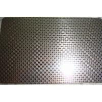 201 304 stainless steel sheet Linen Embossed Pattern for kitchen sink Manufactures
