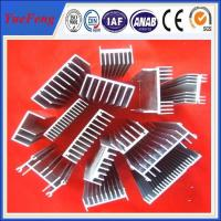 6061/6063 Aluminium heat sink supplier in China/anodized aluminium extruded for heatsink Manufactures