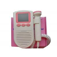 Quality 2Mhz Probe FD -03 Pocket Fetal Doppler Prenatal Heart Monitor Color LCD Display for sale