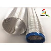 Eco - Friendly Aluminum Flexible Vent Pipe Fireproof For Aeration System Manufactures