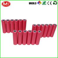 Sanyo 08600 Cylindrical Lithium Ion Battery , Highest Capacity 18650 Li Ion Battery Manufactures