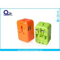 AC Power External Usb Power Travel Adapter Dual USB Port Short Circut Protection Manufactures