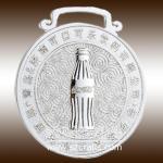customized lanyard metal coca enterprise medal with ribbon Manufactures
