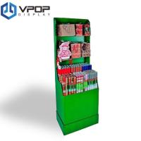 Gift Bags Cardboard PDQ Displays Offset Printing Four Colors With Tray And Hook Manufactures