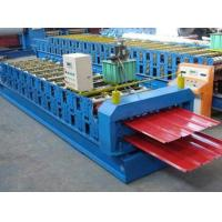CE Double Layer Roll Forming Machine , Trapezoidal Sheet Roll Forming Machine Manufactures