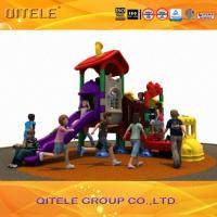 HDPE Plastic Children Playground Equipment Small For Kids center Manufactures