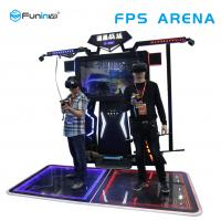 China Interactive Virtual Reality Simulator / FPS Arena 9d Virtual Reality Cinema on sale