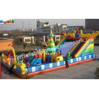 ODM Tarpaulin Amusement Park For Children Funny Outdoor Games Manufactures
