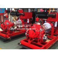 Diesel Engine Driven Centrifugal Fire Pump 2000GPM@150PSI High Performance Manufactures
