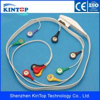 China High quality Compatible Mortara 10LD lead Holter ECG Cable Snap IEC Leads Wire Sets ECG/Patient monitor cable on sale