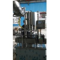 Accuracy 6 Heads Thread Bottle Capper Machine Automatic For Glass / PET Bottle Manufactures