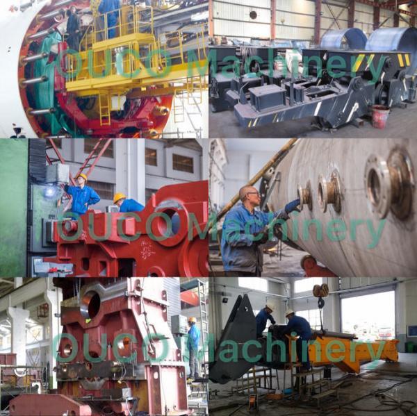 5T15M High Strength Steel Hydraulic Yellow Crane with Stiff Boom 4