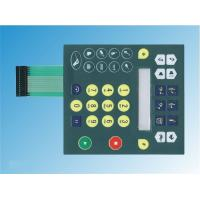 China PC Waterproof Embossed Flexible Tactile Membrane Switch For Computer Keyboard on sale