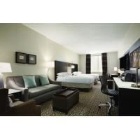 Quality Hotel Executive Suite Bedroom Furniture Double Bed with TV storage Cabinets by for sale
