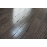 Red oak Solid hardWood Flooring, city gray stained and UV lacquer Manufactures