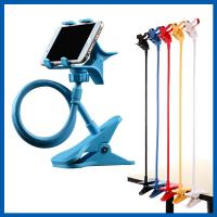 Blue Universal Mobile Phone Accessories Clip Holder Lazy Bracket Flexible Long Arms Manufactures