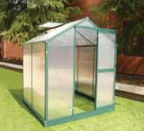 10*16ft hot sale greenhouse with four windows Manufactures